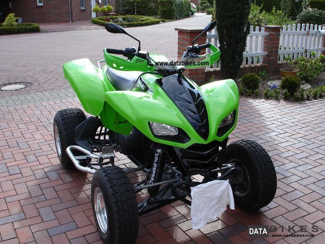 Kawasaki  kfx 700 2003 Quad photo