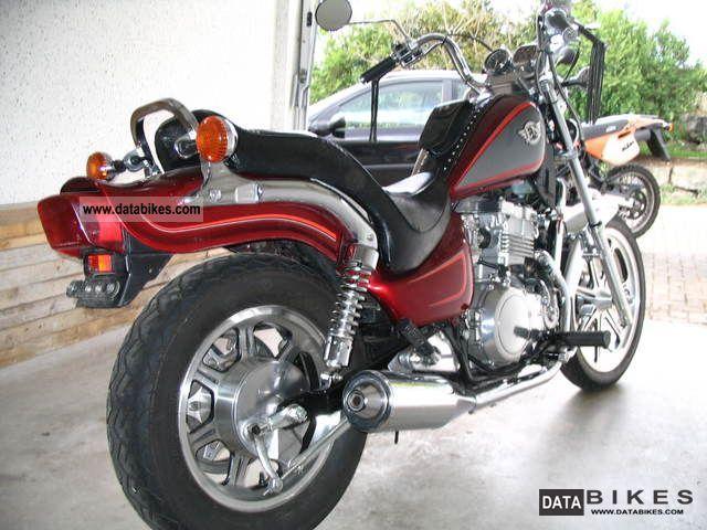 1993 Kawasaki  EN 500 Motorcycle Chopper/Cruiser photo