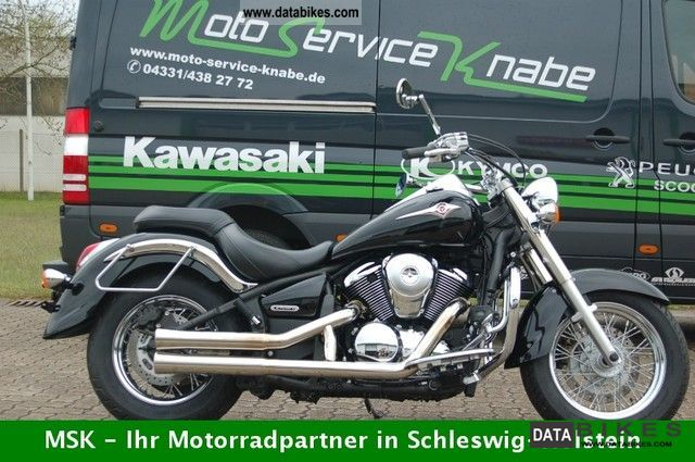 2009 Kawasaki  VN900 with special exhaust system Motorcycle Chopper/Cruiser photo