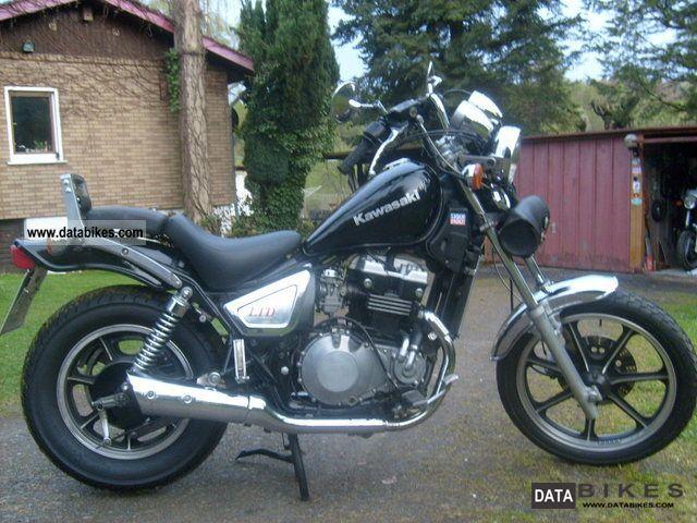 1988 Kawasaki  EN 450 A Motorcycle Chopper/Cruiser photo