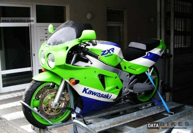 1990 Kawasaki  ZXR 750 Motorcycle Sports/Super Sports Bike photo