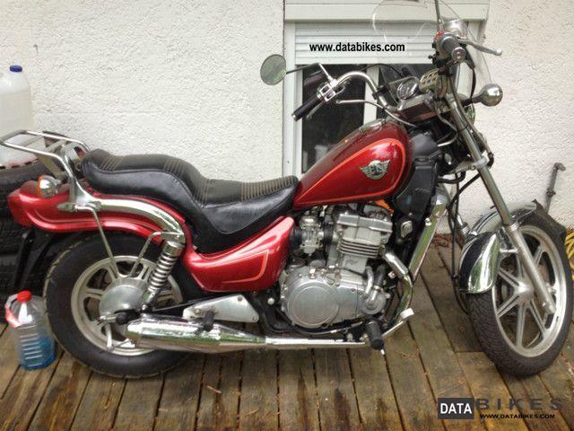 1992 Kawasaki  EN 500 Motorcycle Chopper/Cruiser photo