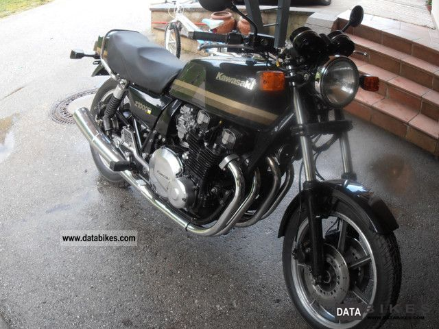 1982 Kawasaki  z1000j Motorcycle Naked Bike photo