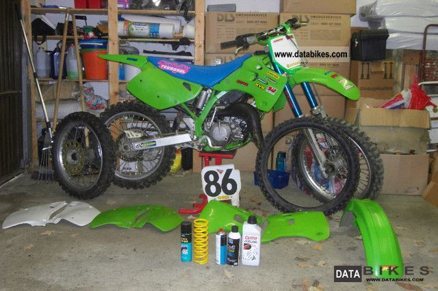 1993 Kawasaki  KX 125 Motorcycle Rally/Cross photo