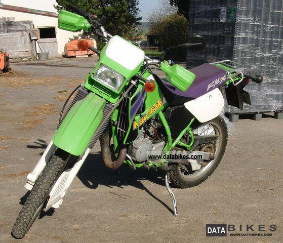 2000 Kawasaki  MX 125 B Motorcycle Lightweight Motorcycle/Motorbike photo