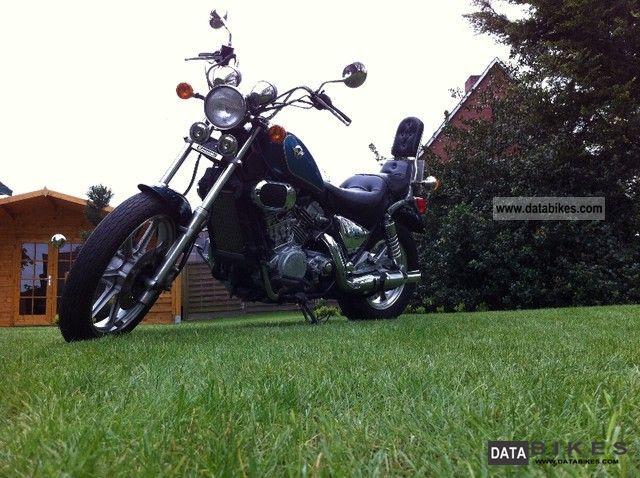 1993 Kawasaki  VN 750 Twin Motorcycle Chopper/Cruiser photo