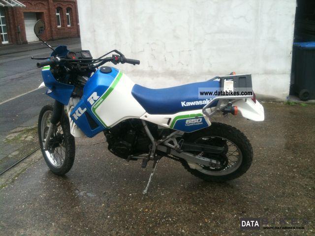 1988 Kawasaki  KLR 650 Motorcycle Enduro/Touring Enduro photo