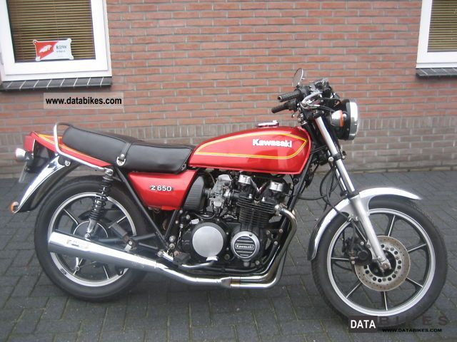 Kawasaki Z 650 1981 Motorcycle Photo