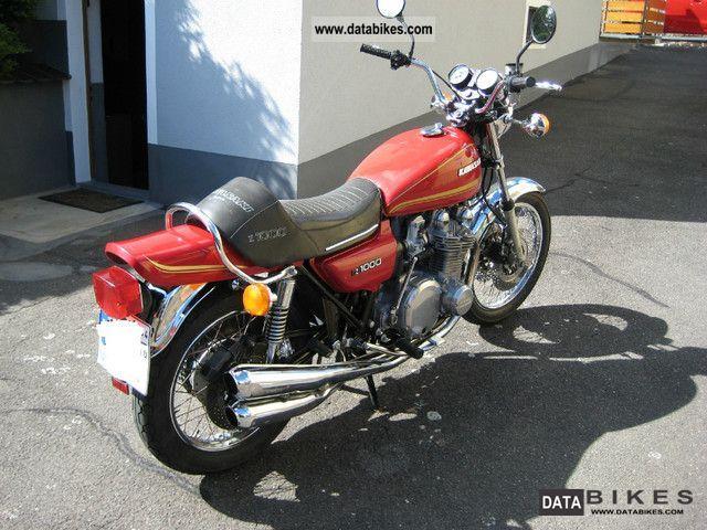 1979 Kawasaki Z1f Z1000 A2