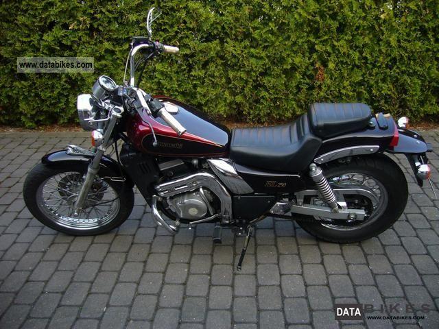 1992 Kawasaki  EL 250 B Motorcycle Chopper/Cruiser photo
