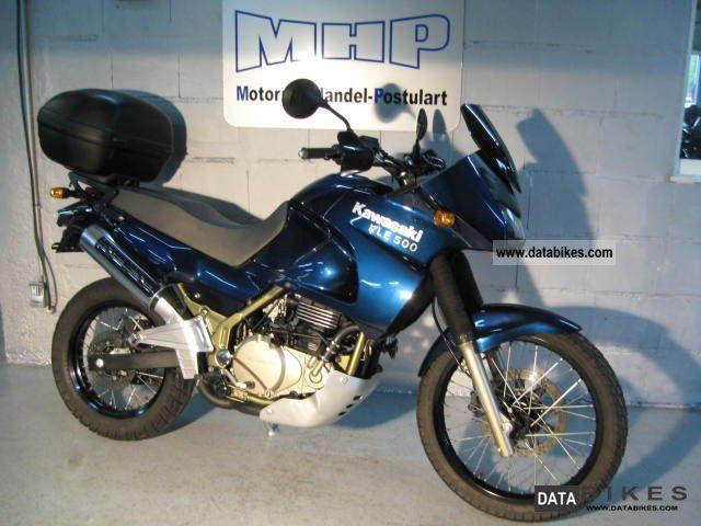 2006 Kawasaki  KLE500 + Tools + Inspe / HU + new + tip-top Motorcycle Enduro/Touring Enduro photo