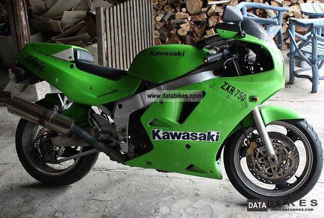 1988 Kawasaki  ZXR 750 Motorcycle Sports/Super Sports Bike photo