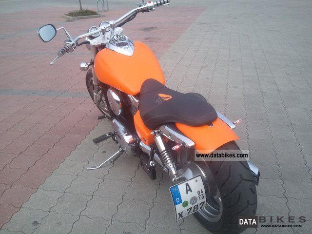 Kawasaki  Mean Streak VN 1600 2004 Chopper/Cruiser photo