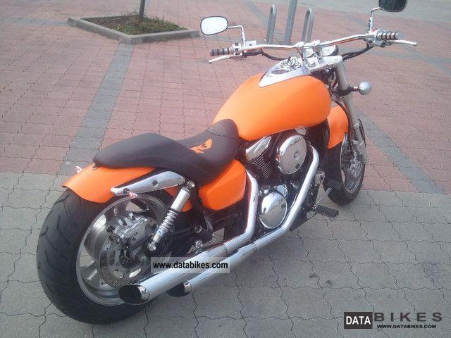 2004 Kawasaki Mean Streak Vn 1600