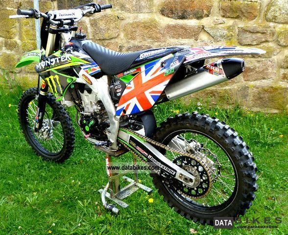 2011 Kawasaki KXF KX 450 F Motorcycle Rally/Cross photo