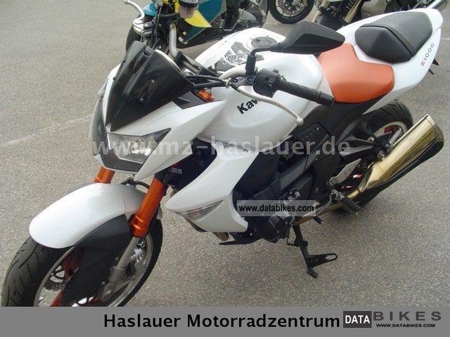 2008 Kawasaki  Z 1000 Motorcycle Naked Bike photo