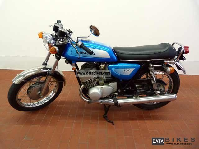 Kawasaki  Mach 3 H1 1971 Vintage, Classic and Old Bikes photo