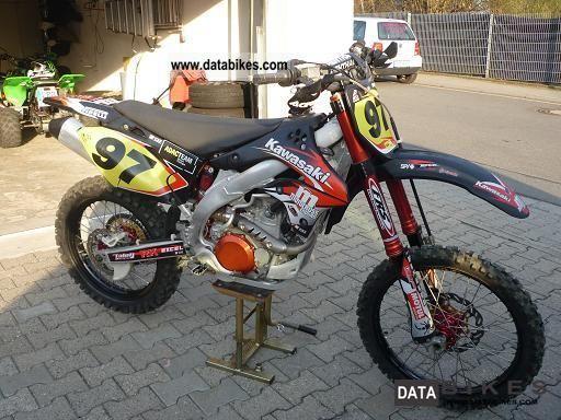 2007 kawasaki kx 450