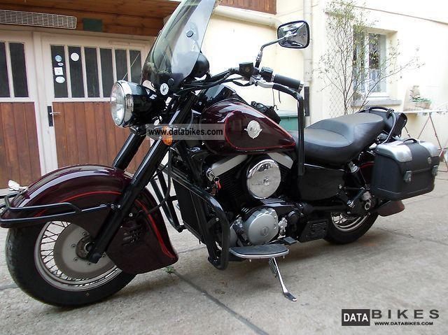 2001 Kawasaki  VN1500 Drifter Motorcycle Chopper/Cruiser photo