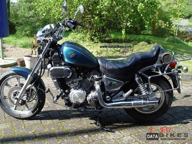 1993 Kawasaki  VN750 Motorcycle Chopper/Cruiser photo
