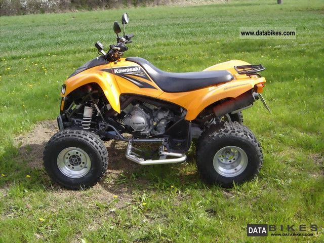 2004 Kawasaki  KFX 700 Motorcycle Quad photo