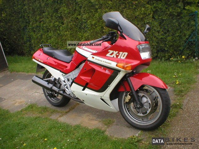 1988 Kawasaki  ZX 10 Motorcycle Tourer photo