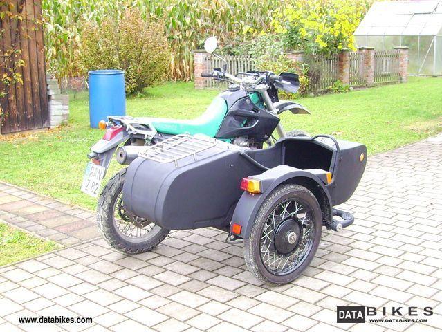 1993 Kawasaki  LX 650 c Motorcycle Combination/Sidecar photo