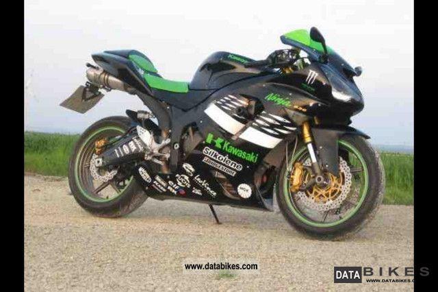 ... 2006 Kawasaki Ninja ZX6R Monster Energy 636C Motorcycle Sports/Super  Sports Bike Photo ...