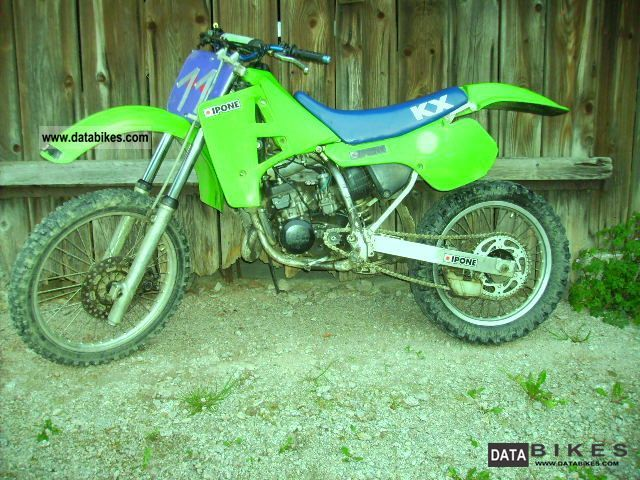 1989 kawasaki kx 125 motocross. Black Bedroom Furniture Sets. Home Design Ideas