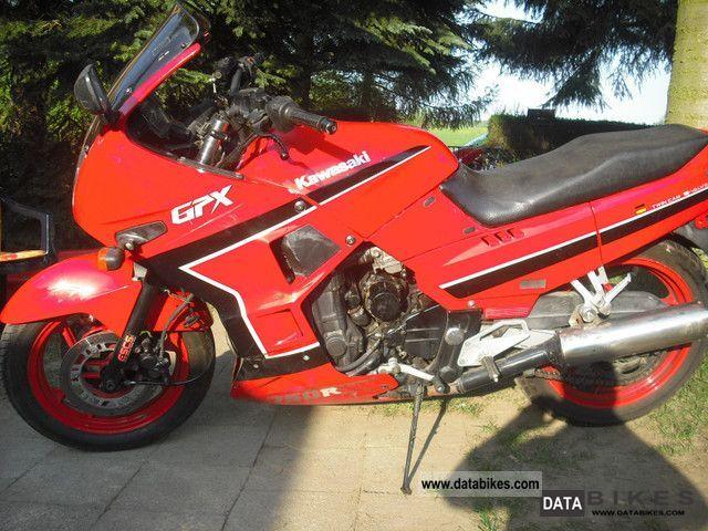 1989 Kawasaki  GPX 750 R Ninja Motorcycle Sport Touring Motorcycles photo