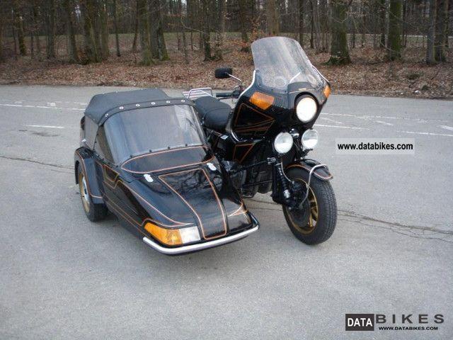 1990 Kawasaki  Z1300 DFI Legendary Six Motorcycle Combination/Sidecar photo