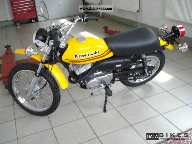 1980 Kawasaki KM 100 * Mini motorcycle, like new! *