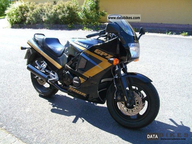1989 Kawasaki  GPZ 600 R Motorcycle Sports/Super Sports Bike photo