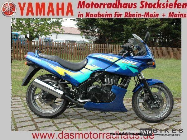 1995 Kawasaki  GPZ500 Motorcycle Tourer photo