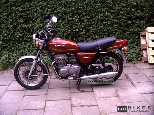 Kawasaki  Z 400 1978 Vintage, Classic and Old Bikes photo