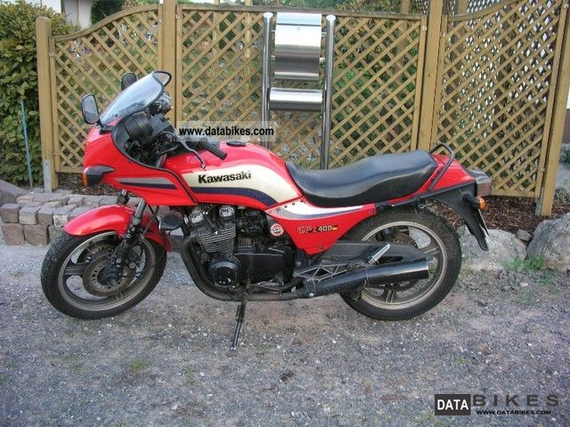 1985 Kawasaki Z 400  Kz 400 F