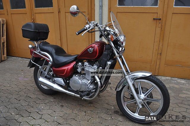 1991 Kawasaki  EN500A Motorcycle Chopper/Cruiser photo