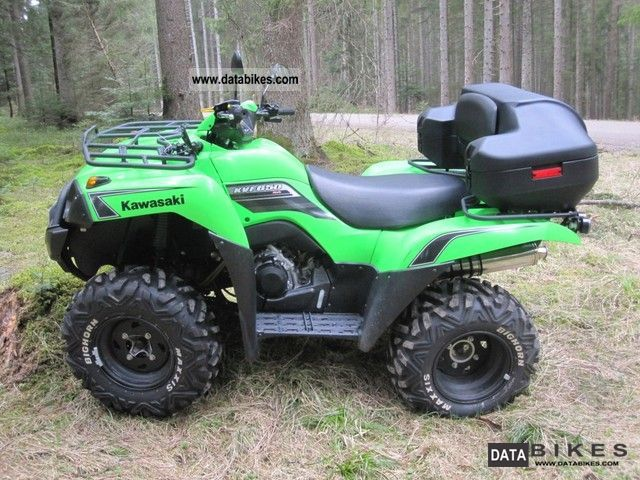 2009 Kawasaki  ATV 650 Motorcycle Quad photo