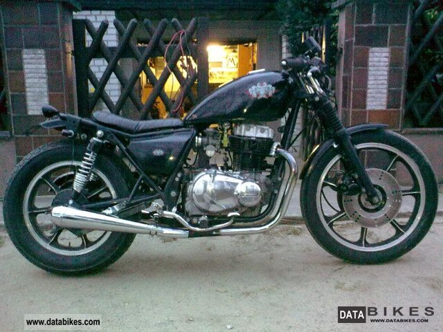 1982 Kawasaki  Z 440 LTD'''' CAFE RACER Motorcycle Chopper/Cruiser photo