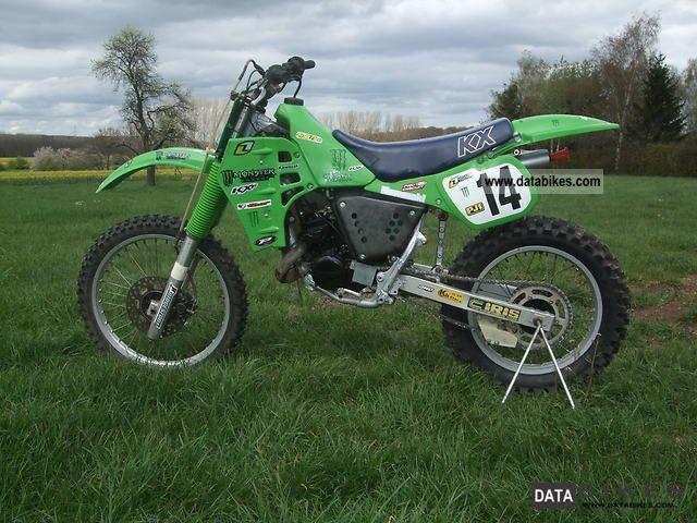 1985 Kawasaki  KX 125 Motorcycle Rally/Cross photo