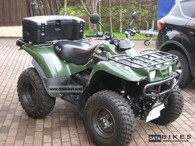 2005 kawasaki kvf 360 4 4 atv zugm ackerschlepper. Black Bedroom Furniture Sets. Home Design Ideas