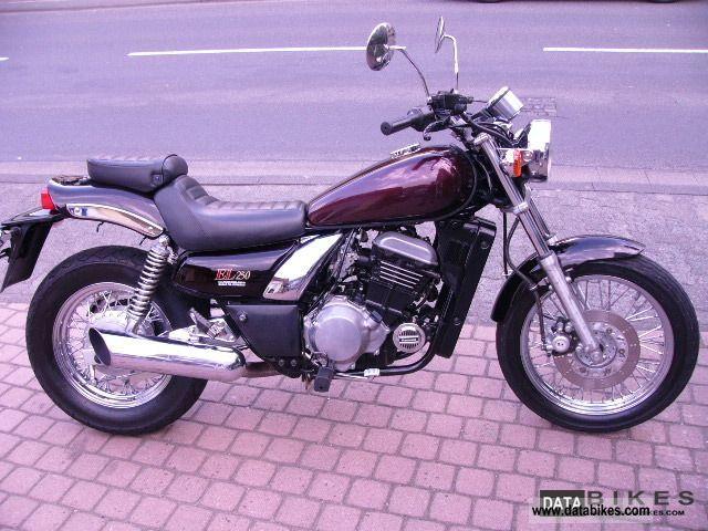 1991 Kawasaki  EL 250 Motorcycle Chopper/Cruiser photo