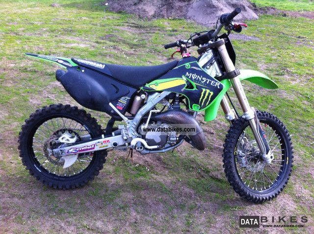 2008 Kawasaki  KX 125 Monster Energy Motorcycle Rally/Cross photo