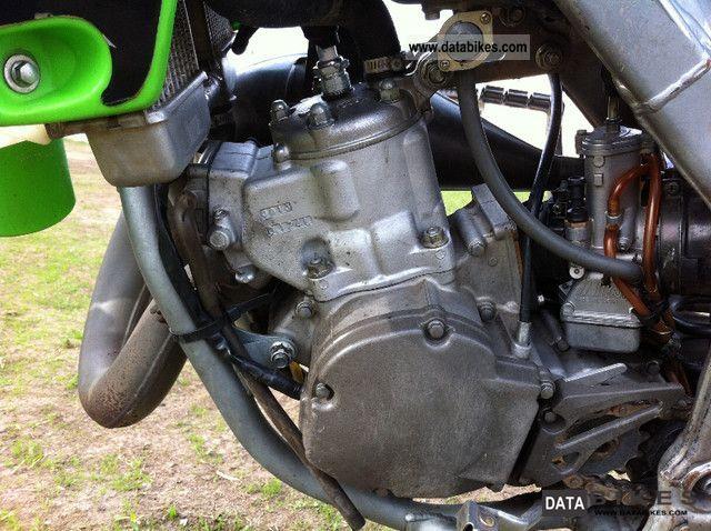 2008 Kawasaki KX 125 Monster Energy