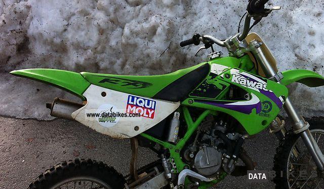 1999 Kawasaki  kx 80 Motorcycle Motor-assisted Bicycle/Small Moped photo