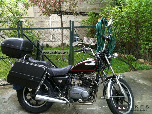 1981 Kawasaki  Z440 Ltd. Motorcycle Chopper/Cruiser photo