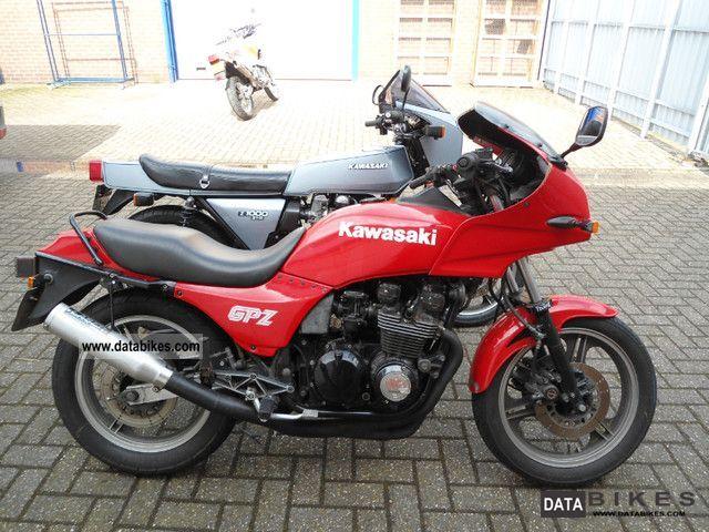 1984 Kawasaki  GPZ550 Motorcycle Motorcycle photo
