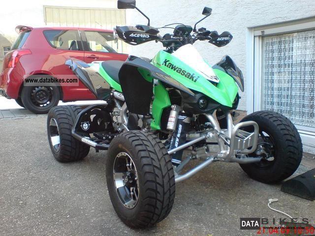 2009 Kawasaki  KFX 450R Motorcycle Quad photo