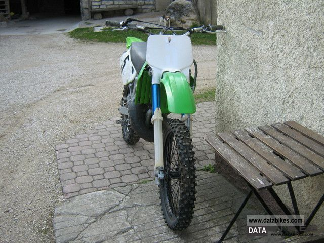 1992 Kawasaki kx 250  1992 Kawasaki k...
