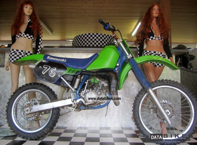 1989 Kawasaki  KX 125 Motorcycle Enduro/Touring Enduro photo